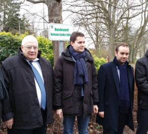Inauguration Bouelevard Collet-Billon