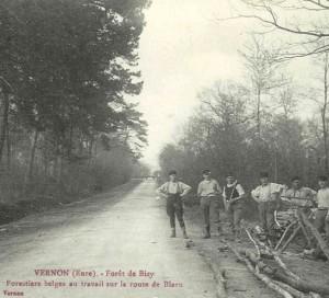 Rue des Belges à Vernon