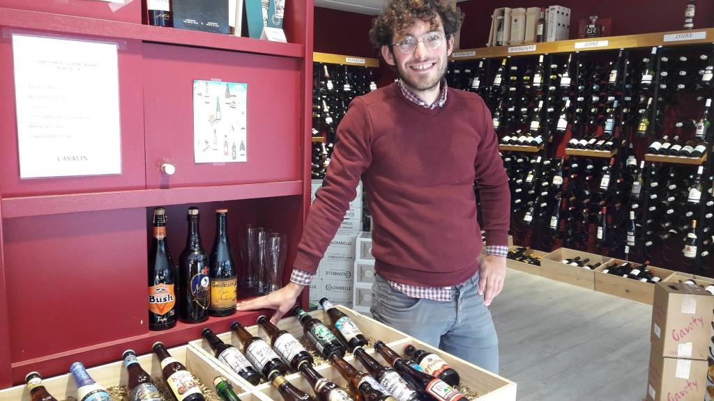 Les bières de Brasseurs Cueilleurs sont notamment à retrouver à Cave à Vin à Vernon.