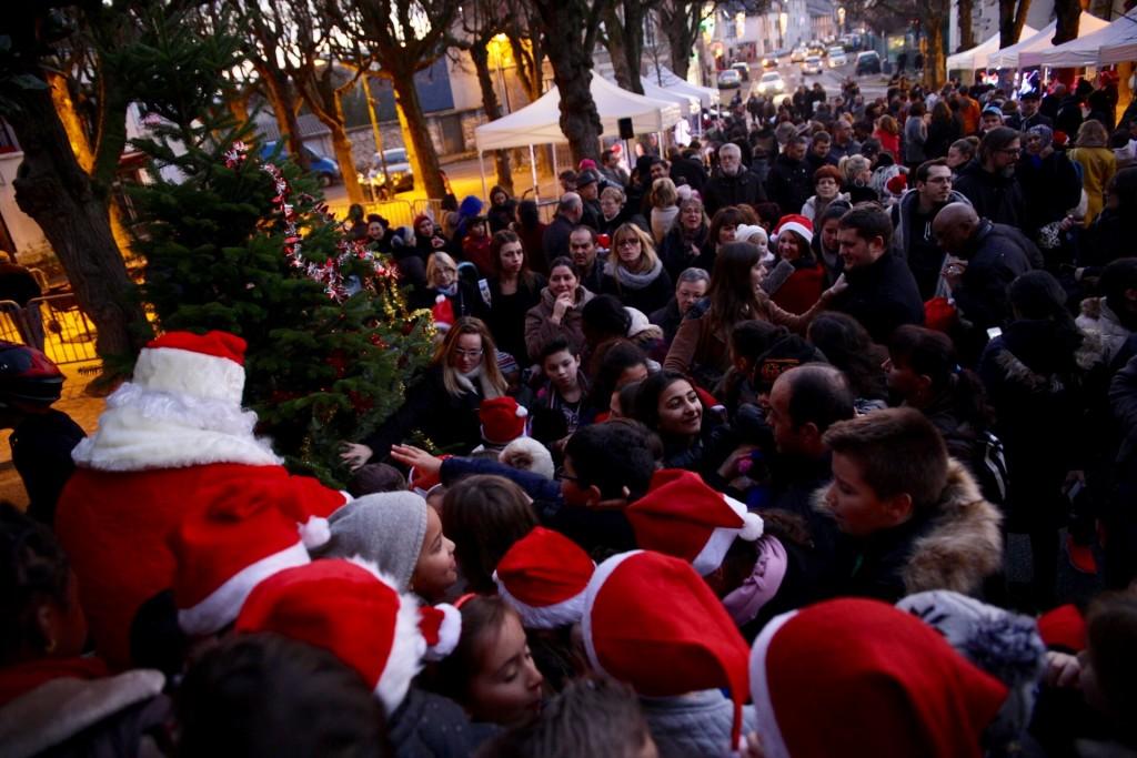 Vendredi 9 décembre à Vernonnet.