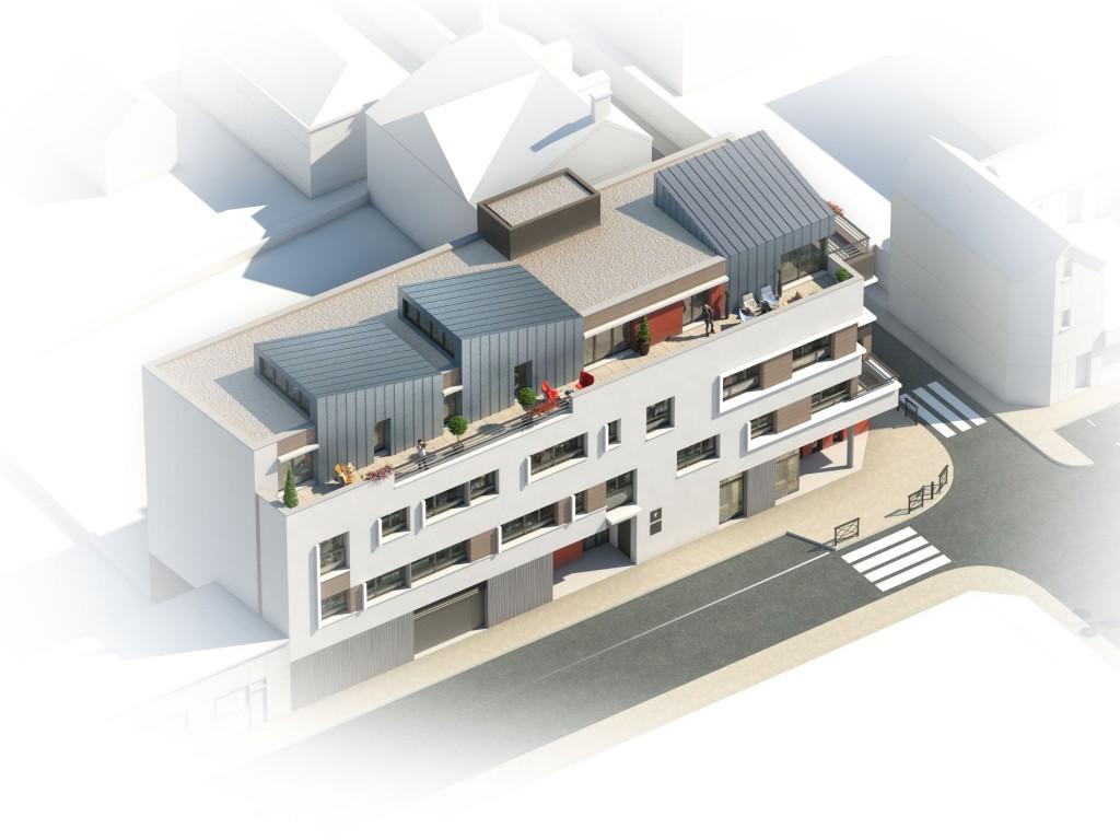 Gare : le projet de bureaux affiné