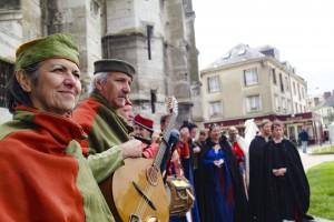 Médiévales de Vernon Foire aux cerises