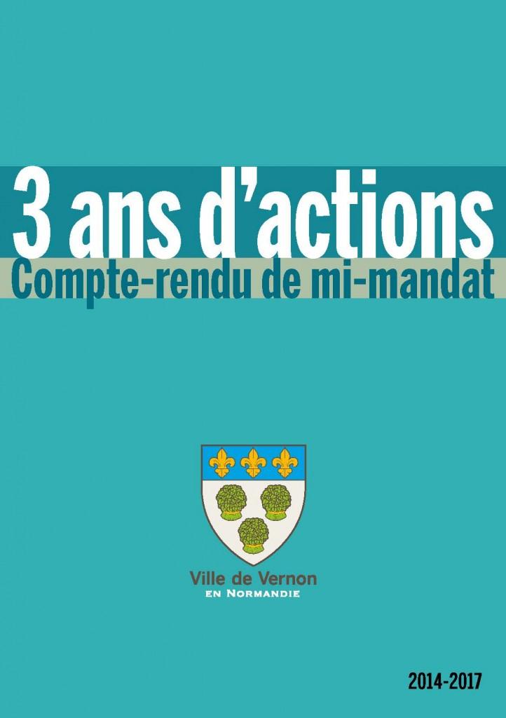 3 ans d'actions au service des Vernonnais, le compte-rendu de mi-mandat de la municipalité