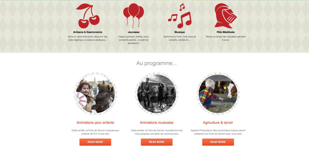 site www.foiredevernon.fr