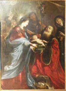 La présentation au temple de Claude Vignon, 1653