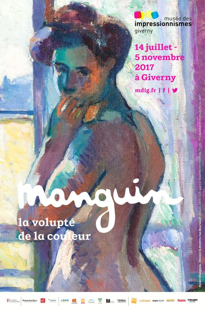 Henri Manguin, désigné par Guillaume Apollinaire comme « le peintre voluptueux », rend hommage au bonheur de vivre à travers des thèmes arcadiens, des nus, des paysages méditerranéens, des scènes de la vie de famille et des natures mortes.