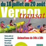 Cinéma plein air, stand-up paddle, canoë-kayak, lecture, concerts rock, tennis de table… Chaque jour, de 14 heures à 18 heures, retrouvez des animations gratuites pour tous à Vernon Transat jusqu'au 20 août !