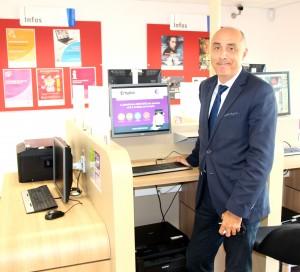 Guillaume Rueda Directeur du Pôle Emploi Vernon