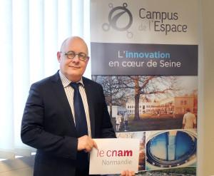 Gilles Maléfan Directeur du CNAM Normandie