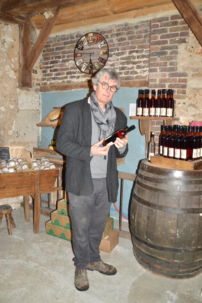 Michel Galmel et son «Apéritif normand des Ruelles» !