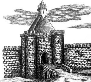 illustration porte de Gamilly
