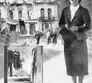 Juin 1940, le château des Pénitents est bombardé. Il ne restera de ce superbe domaine situé à Vernonnet que des ruines envahies par la végétation.