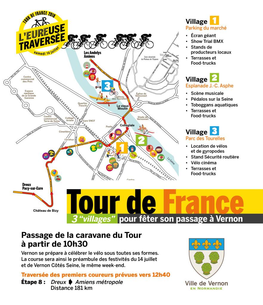 Tour de France Vernon