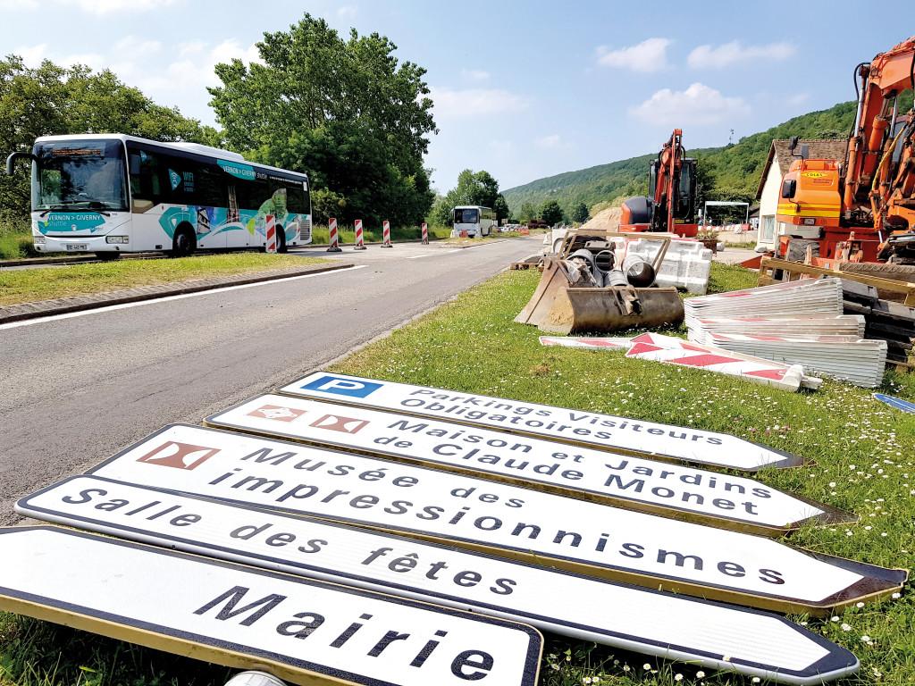 Bientôt une entrée de ville sportive et touristique pour Vernon, côté Giverny.
