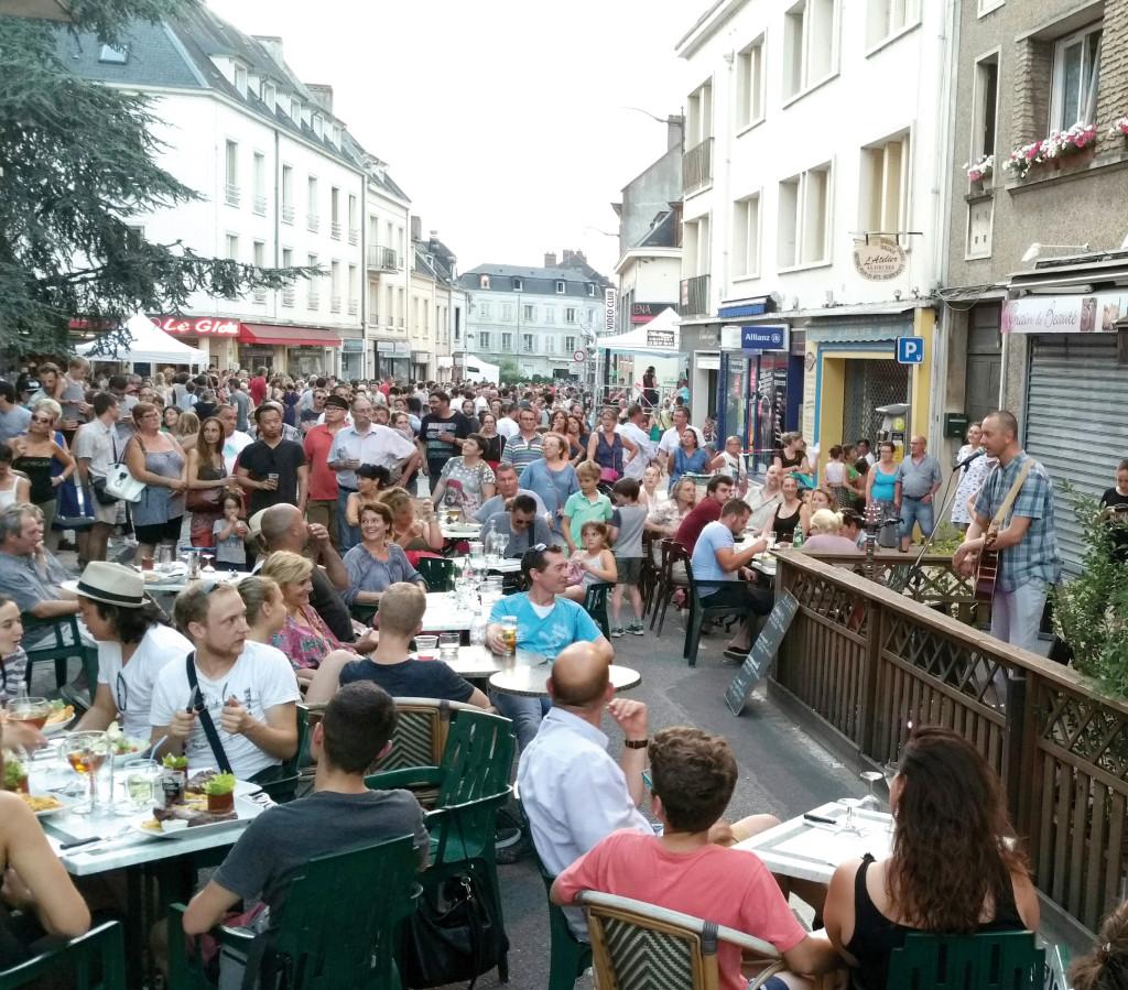 La rue Carnot sera à nouveau l'axe à suivre pour ne rien manquer de la fête de la musique le 21 juin.