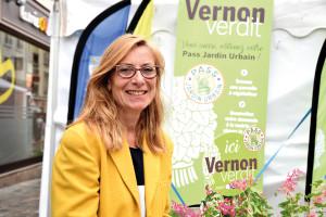 Nicole balmary  adjointe au maire  en charge du développement durable