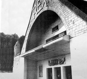 Octobre 1938, Jean Gabin vient tourner à Vernon quelques plans du film «la Bête Humaine» de Jean Renoir.