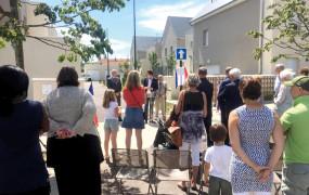 Célébration de l'amitié franco-britannique le 23 juin dernier avec l'inauguration de la rue Worcester, dans l'écoquartier Fieschi. Worcester est une ville anglaise avec laquelle Vernon est liée par un pacte d'amitié depuis 12 ans.
