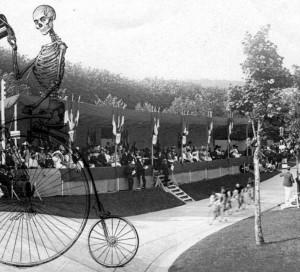 Le fantôme du vélodrome