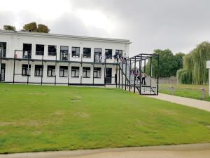 Les étudiants ont investi un bâtiments chargé d'histoire mais refait à neuf.