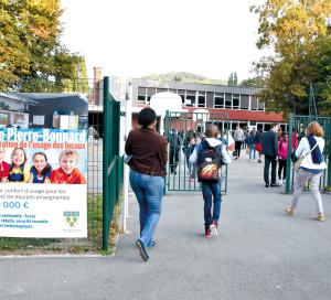 Le demi-million d'euros investi dans l'école Pierre-Bonnard a permis la rénovation complète de l'isolation du bâtiment principal.