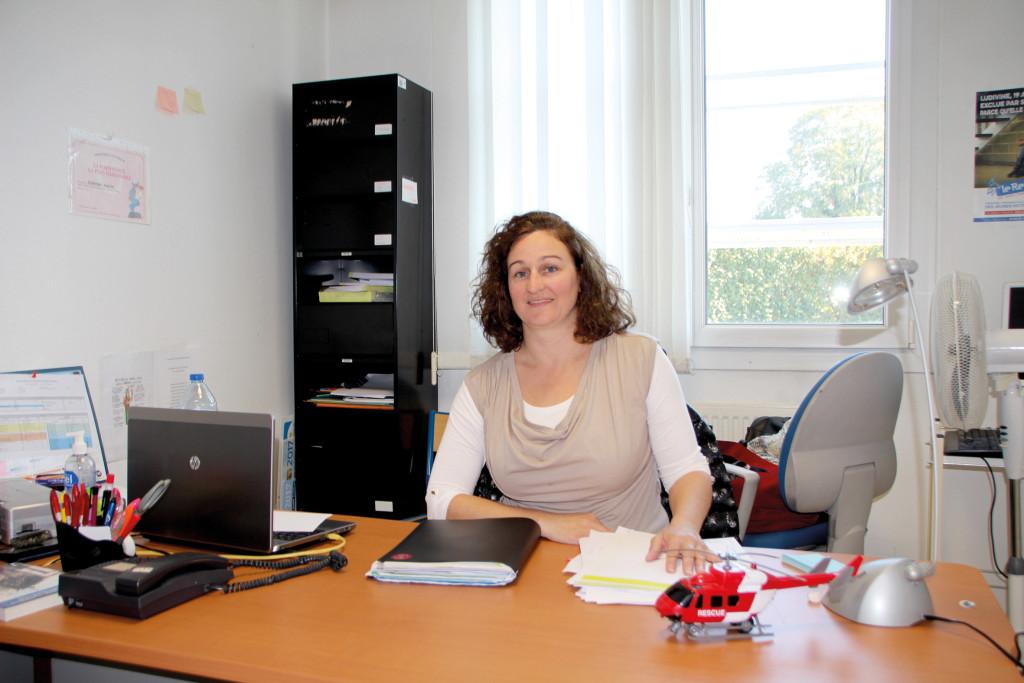Fabienne Aniorté assistante sociale au commissariat