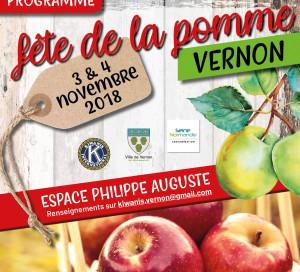 Pour la 4e fois, la section vernonnaise des Kiwanis, une association internationale de bénévoles « au service des enfants du monde » organise sa Fête de la pomme les 3 et 4 novembre prochains à l'Espace Philippe Auguste. L'entrée est gratuite.