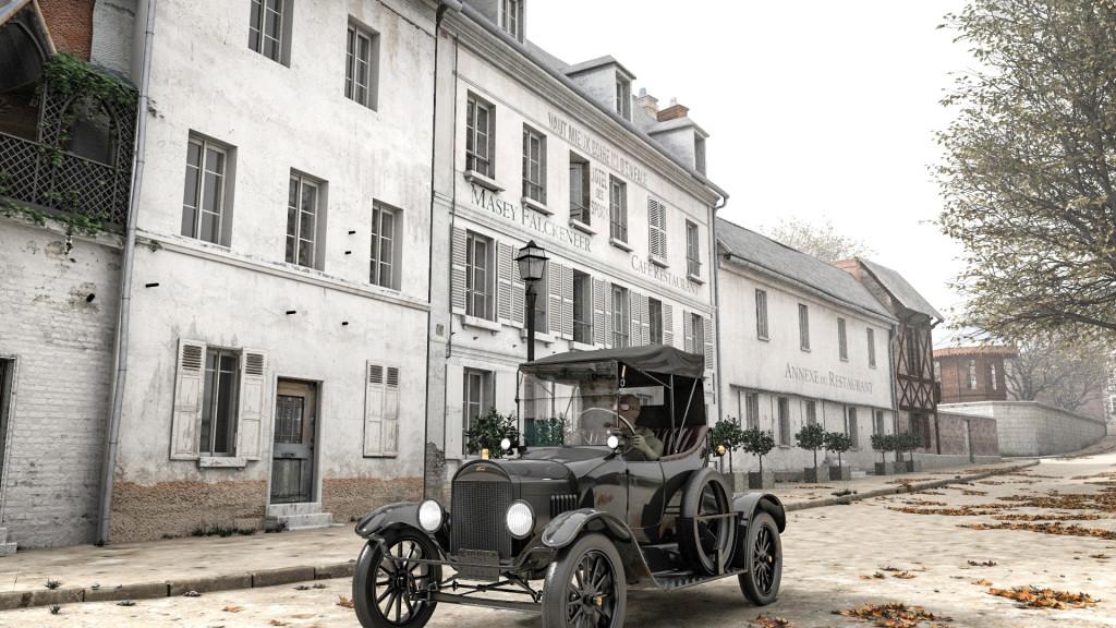 Grâce à la fiction 3D de l'Agence de Tourisme Temporel Vernonnaise, revivez la journée du 11 novembre 1918 à Vernon.