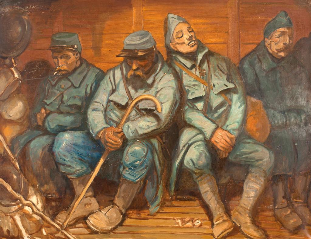 La violence inédite du conflit a profondément marqué les artistes de l'époque comme le montre la nouvelle exposition du musée de Vernon.