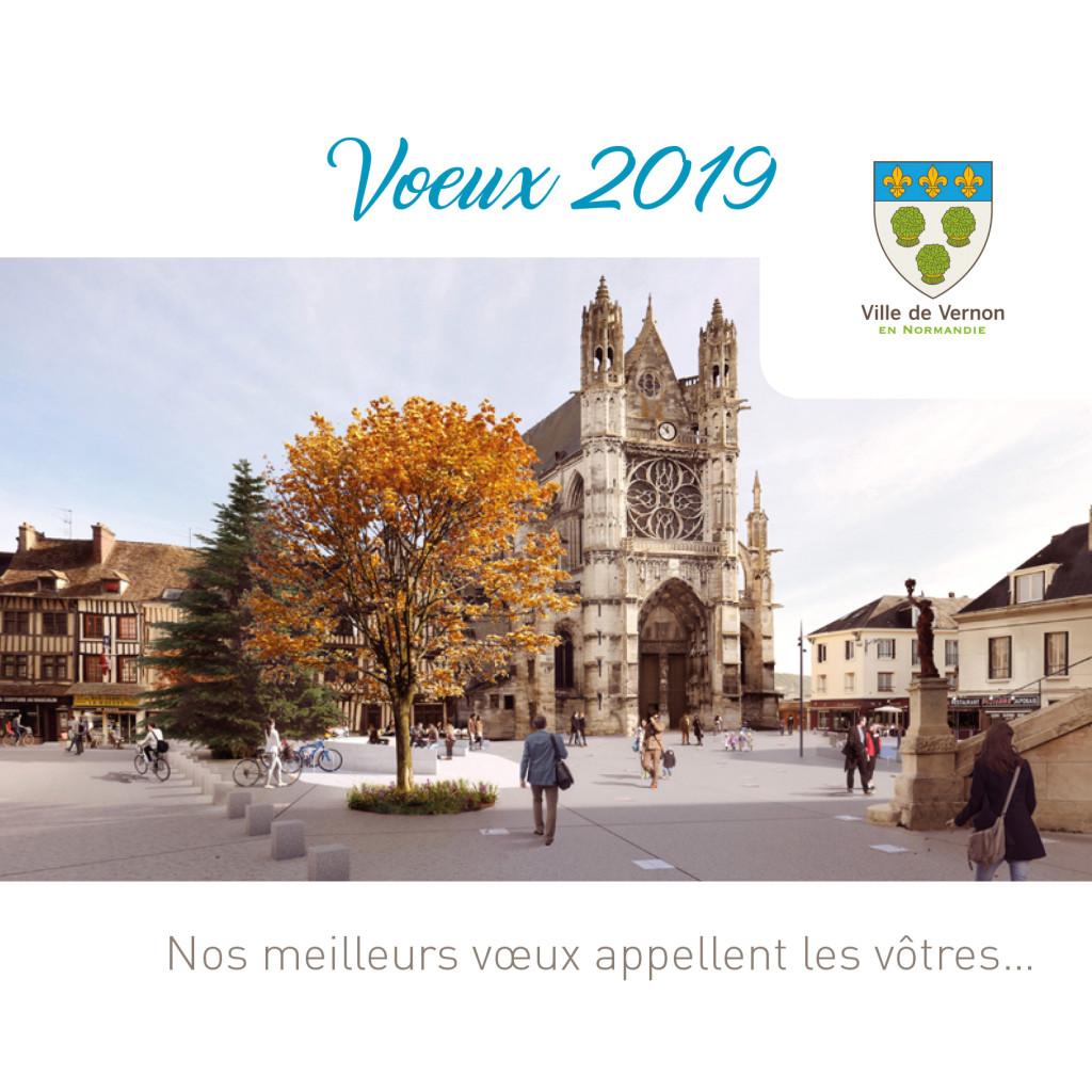 La cérémonie des vœux, l'occasion de venir rencontrer les élus et d'en apprendre plus sur la Consultation Cœur de Ville.