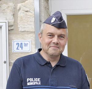 Hervé CHAUVIN Chef de la police municipale