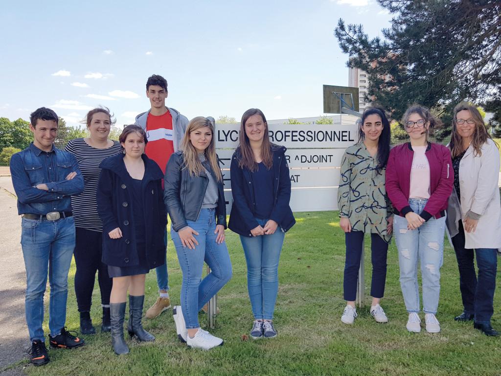 Les 8 finalistes et leurs professeurs sont formels : il n'y a jamais eu tant de solidarité entre élèves que lors du concours !