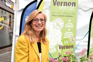 Nicole balmary  maire-adjointe  en charge du développement durable