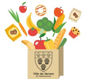 logo ptit marché de Vernonnet