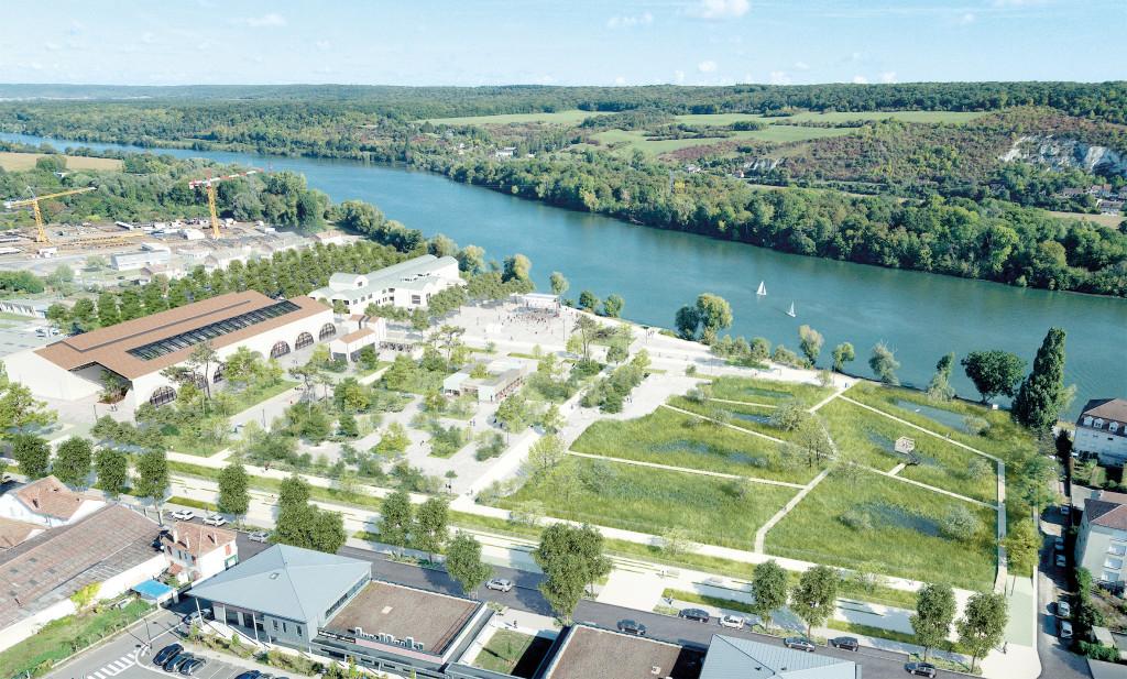 Située le long du fleuve, la friche industrielle de la Fonderie-Papeterie a survécu 15 ans sans aucun projet de la part des équipes municipales précédentes.