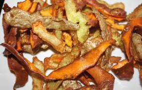 ➧ Chips d'épluchures