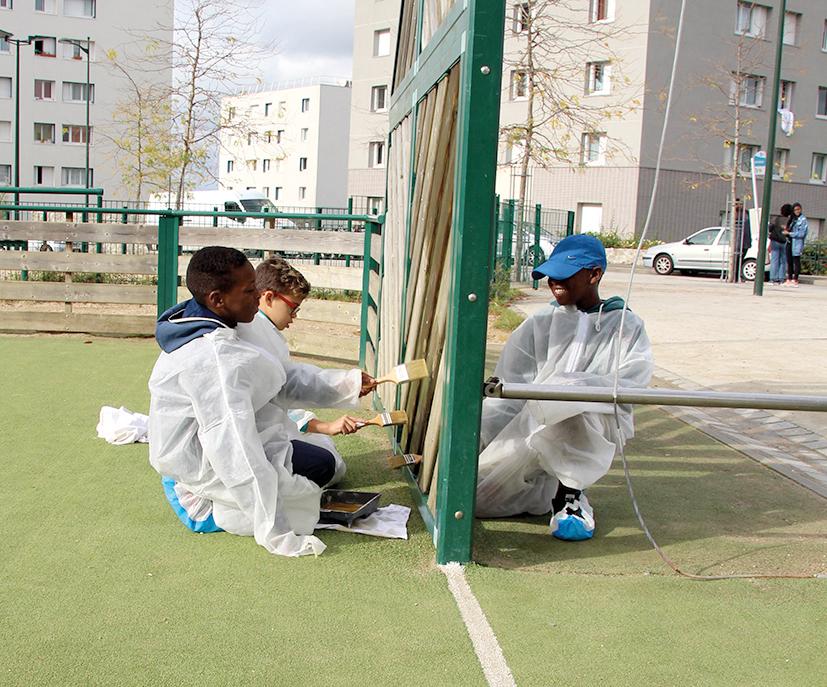Des propositions émanant de la jeunesse ont déjà abouti à des réalisations concrètes. Parmi celles-ci, la rénovation du city stade