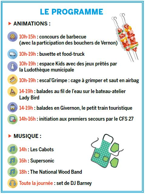 programme barbecue festival vernon 2019