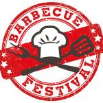 timbre tampon barbecue festival vernon