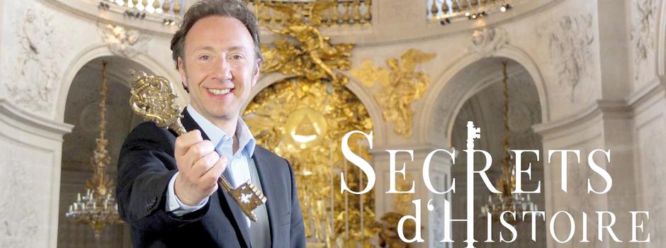 Stephane Bern Secrets d'Histoire