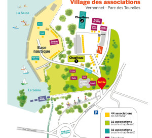 plan village des associations vernon 2019