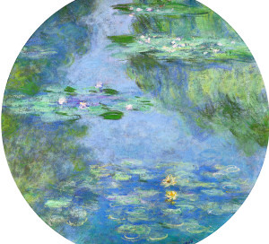 Nymphéas Claude Monet Vernon