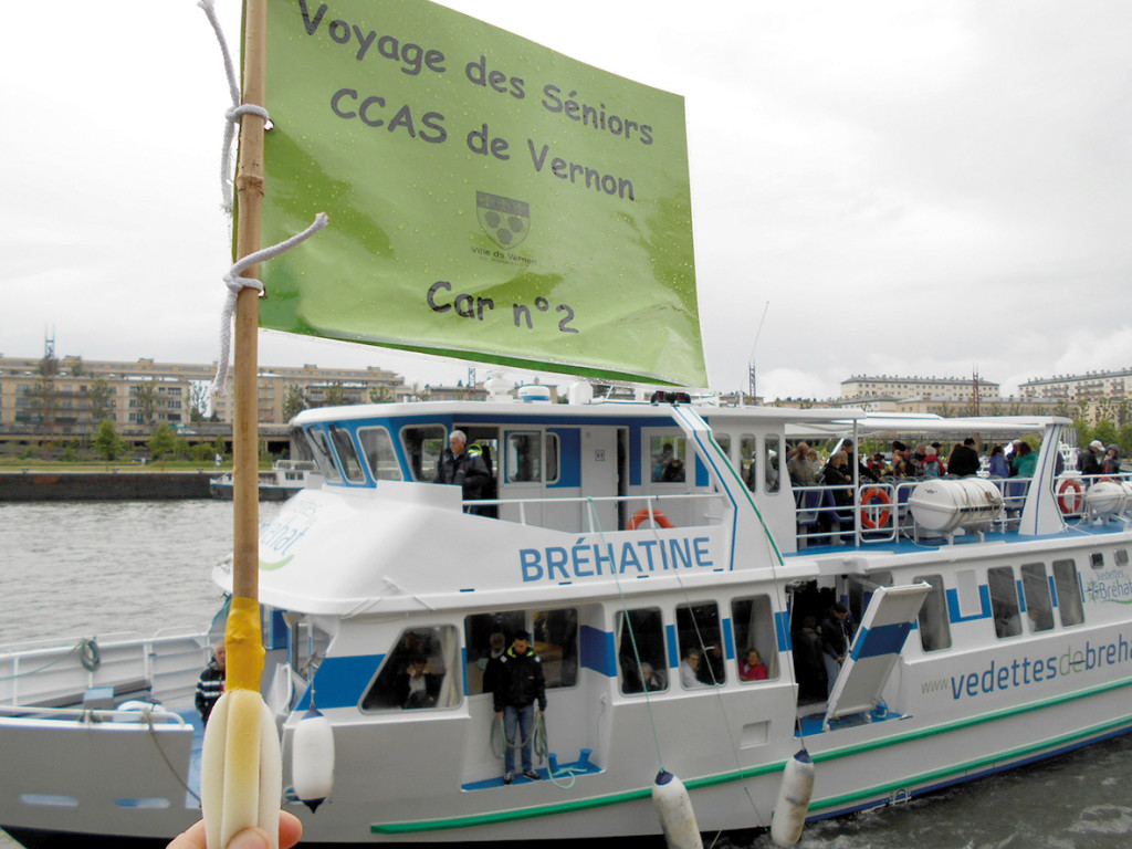 Gros succès cette année pour la sortie annuelle proposée à l'ensemble des seniors vernonnais, les participants ont découvert Rouen et son Armada.