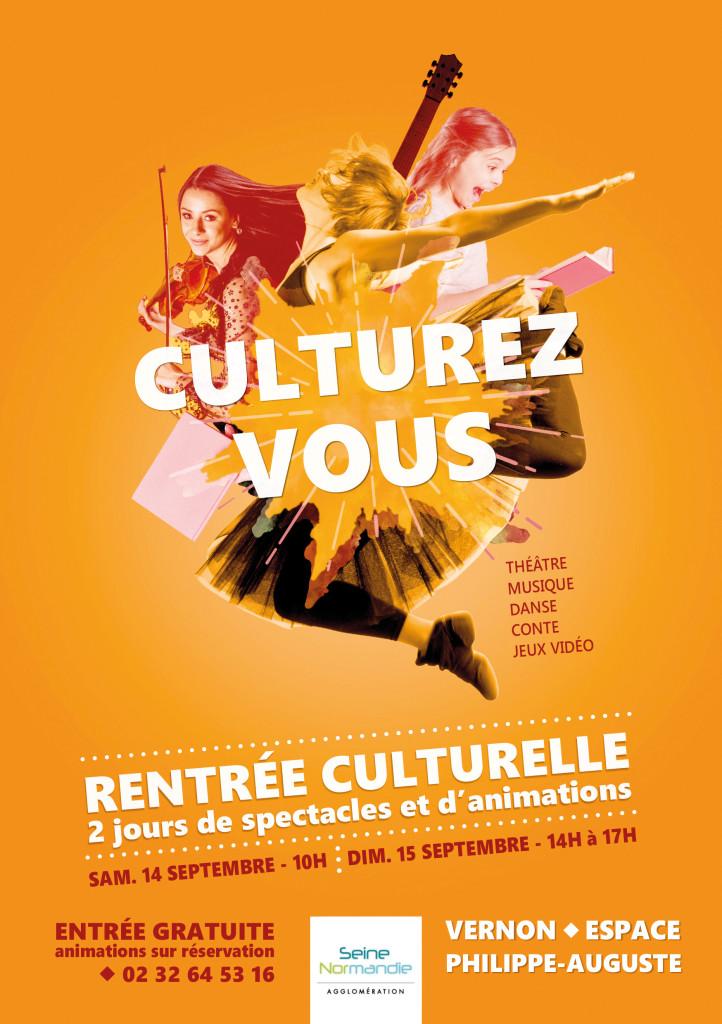 Rentrée Culturelle Vernon SNA 2019