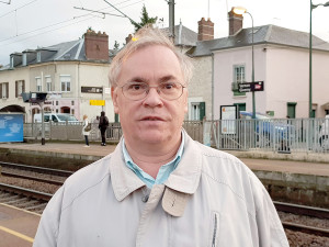 Didier Jaumet  Président de l'association d'usagers Vernon Train de Vie