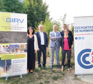 Le GIRV et ses partenaires de la Chambre de commerce et d'industrie préparent le salon depuis plusieurs semaines.