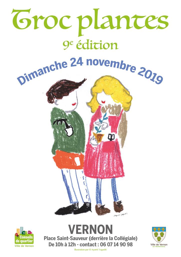 Troc'Plantes revient, dimanche 24 novembre, pour sa 9e édition.
