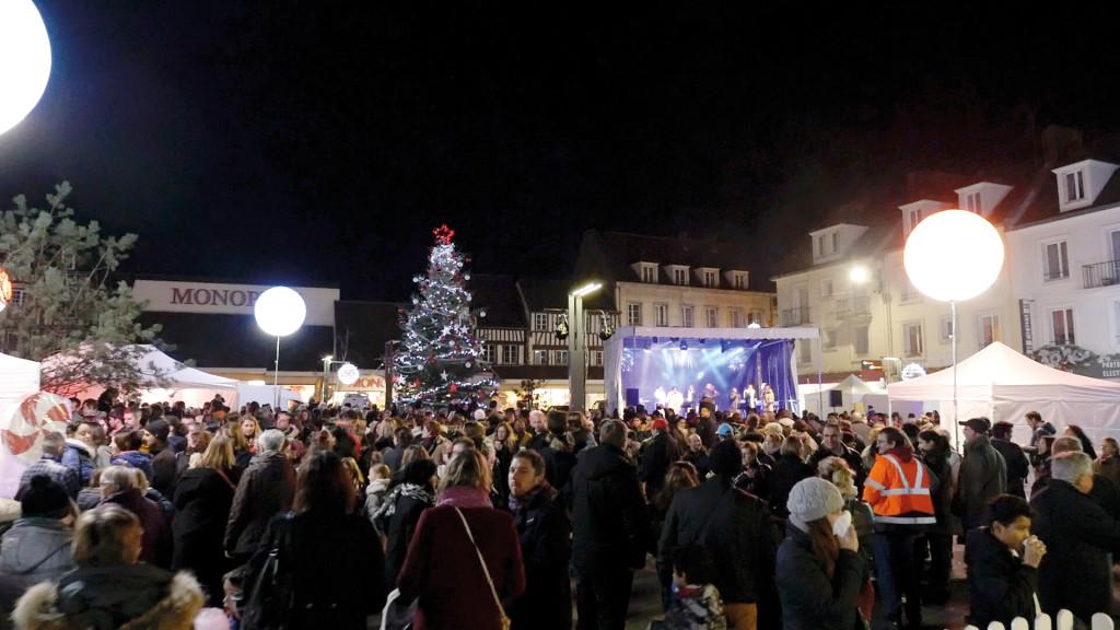 Chaque année, le lancement des illuminations est un grand rendez-vous pour les Vernonnais.