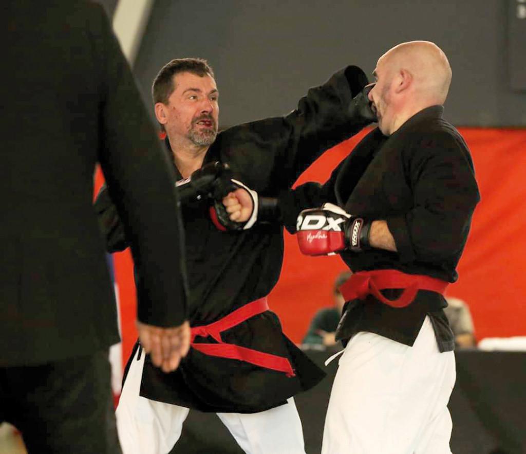Arts martiaux Laurent Gayet, un champion de pankido à Vernon