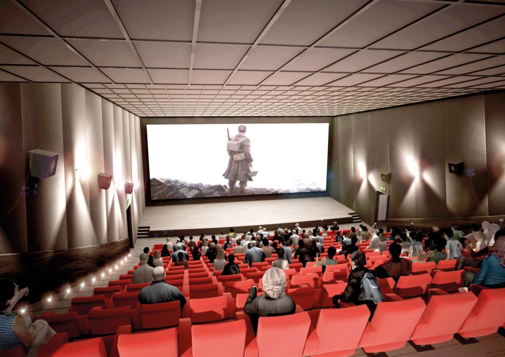 En 2022, le nouveau cinéma ouvrira ses portes. Situé sur le site de l'ancienne Fonderie-Papeterie, il souhaite mêler convivialité et technologies de pointe dans un lieu respectueux de l'Histoire.